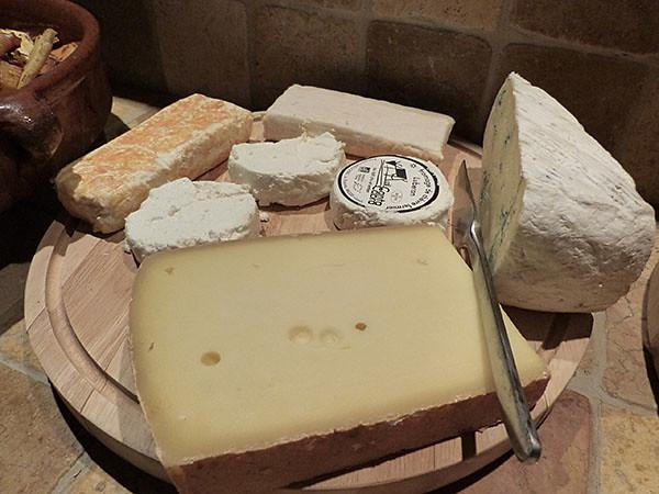 les fromages sont prêts