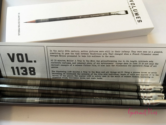 Review @Palomino Blackwing 1138 Limited Edition Pencil @BureauDirect (3)