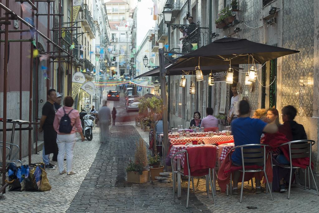 Bairro Alto - Restaurante с терками
