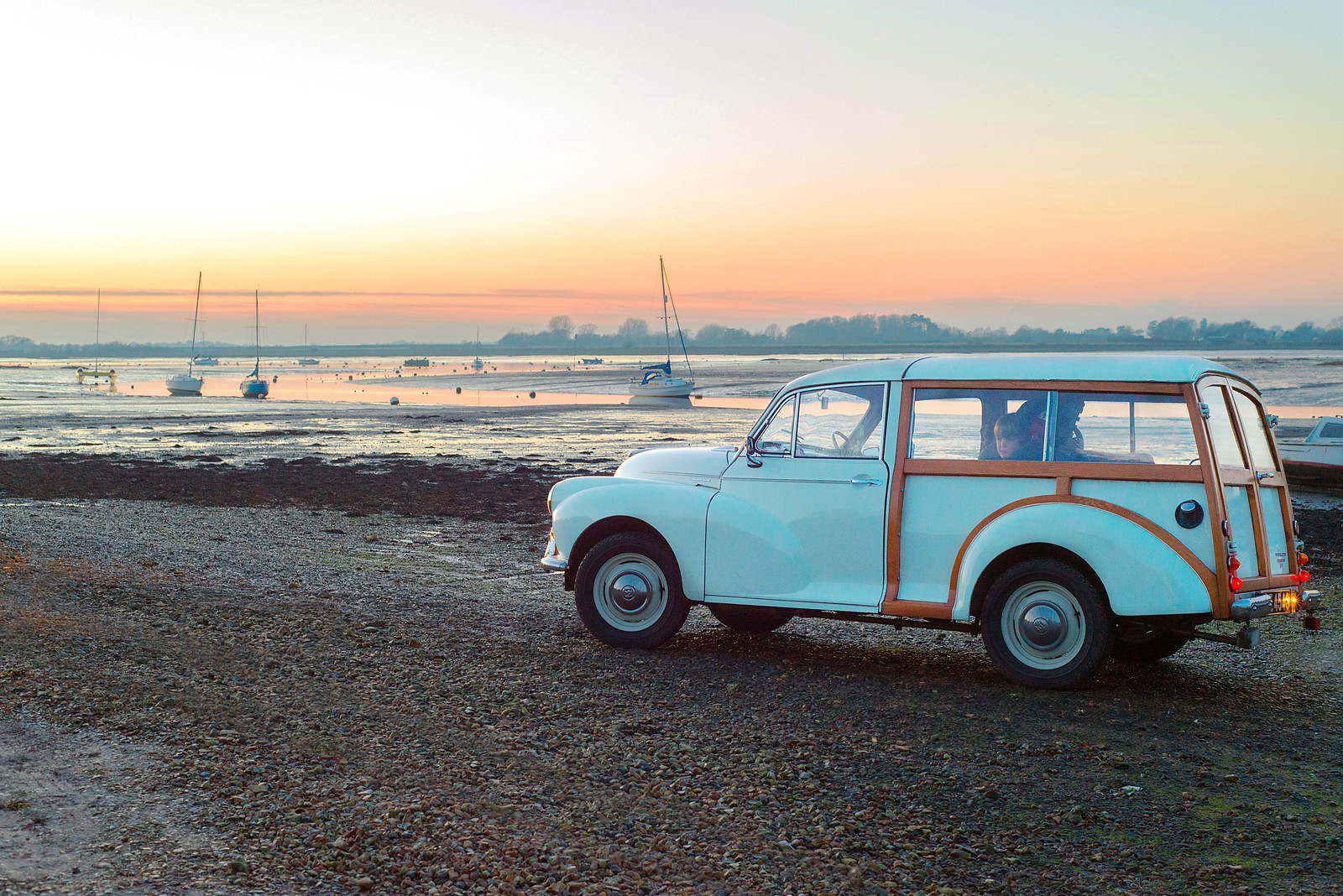 Maggie in the Bosham sunset