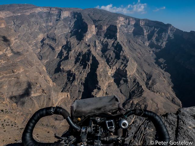 On the edge: Jebel Shams
