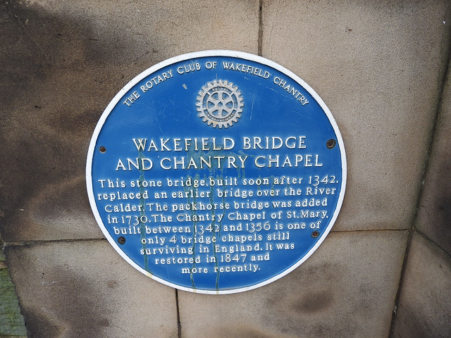 Chantry Chapel Plaque
