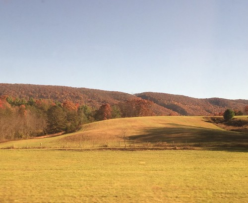 landscapes fall mountains amtrakviews virginia