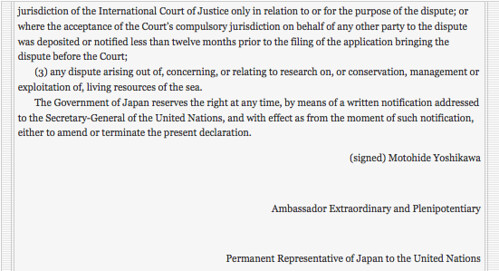 CHARTER OF THE UNITED NATIONS AND STATUTE OF THE INTERNATIONAL COURT OF JUSTICE, JAPAN(2/2)