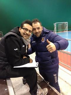 Foto Nicola Sollenne (a sinistra) assieme a Pino Maselli
