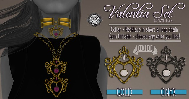 OXIDE Valentia Set - New Release