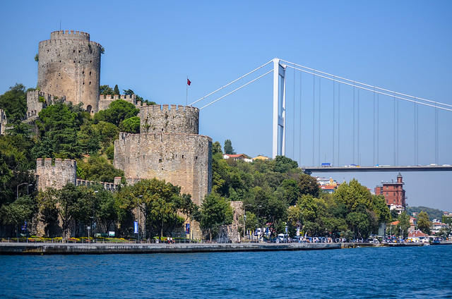 A view from the Bosphorus