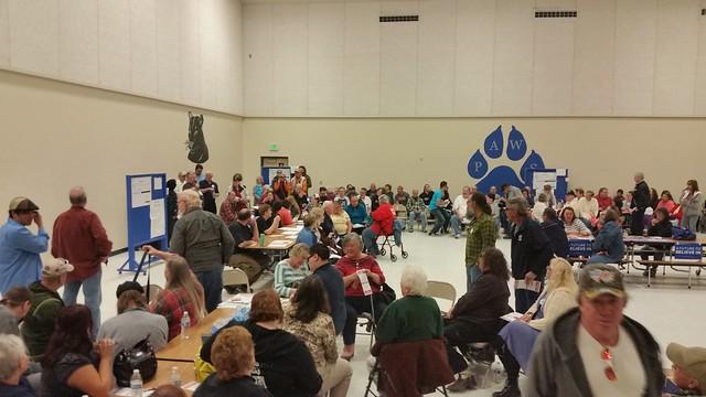 Nevada Caucus 2016: Lyon County East Fernley
