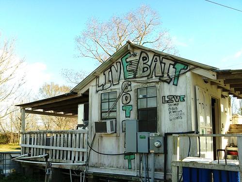 Bait shack, Houma, LA