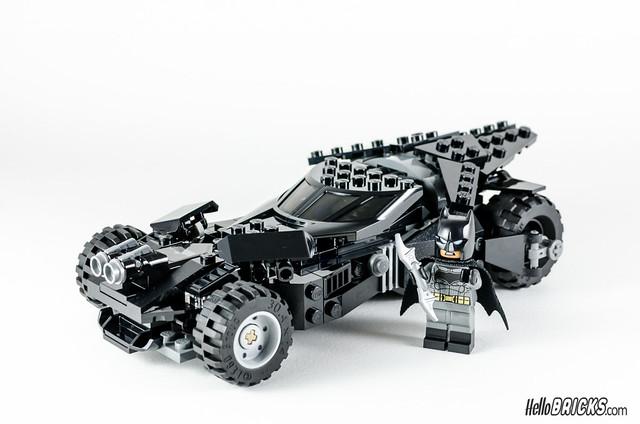 REVIEW LEGO 76045 DC Comics Batman Kryptonite Interception 29