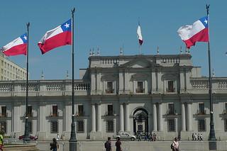 Santiago - Palacio La Moneda back