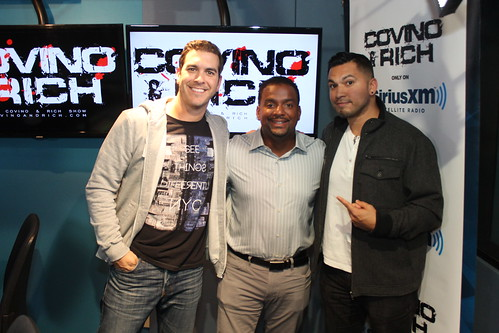 Alfonso Ribeiro on the Covino & Rich Show