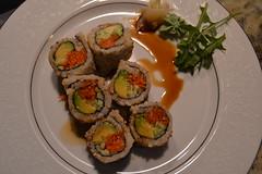 sushi food photoshoot