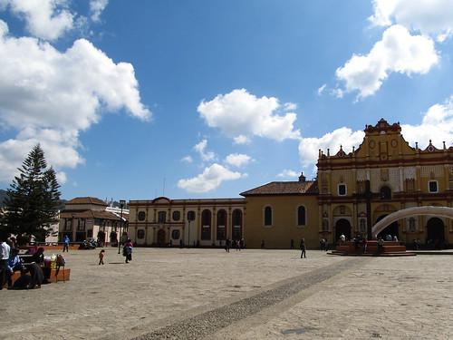 San Cristóbal de las Casas: la cathédrale de San Cristóbal Mártir