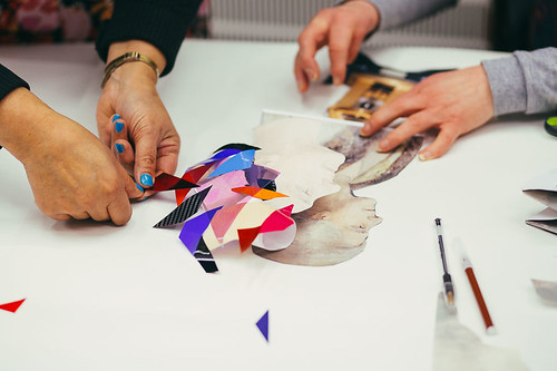 Exquisite Corpse Workshop at Arts & Science Festival