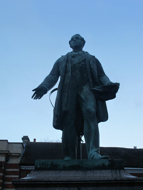Lord Palmerston's Statue, Romsey