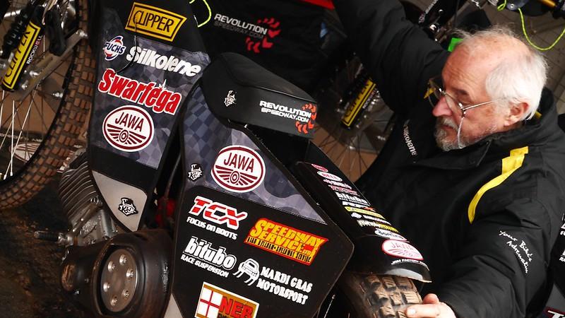 JAWA JRM Factory Racing - Practice Birmingham