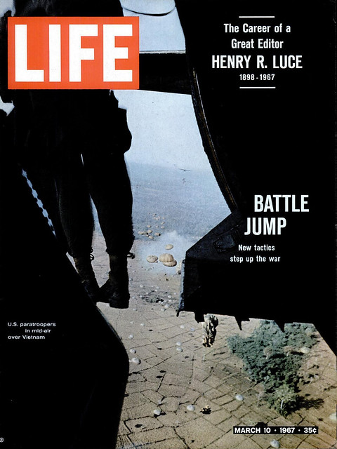 LIFE Magazine - March 10, 1967 (1) - BATTLE JUMP
