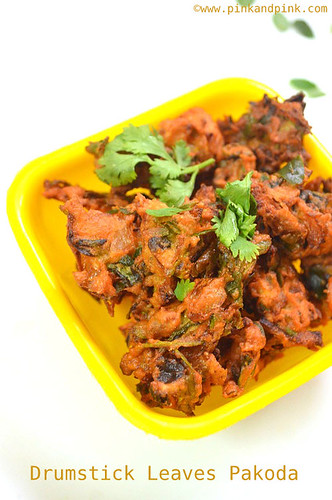 Murungai Keerai Pakoda Recipe | Drumstick Leaves | Moringa Leaves Recipe