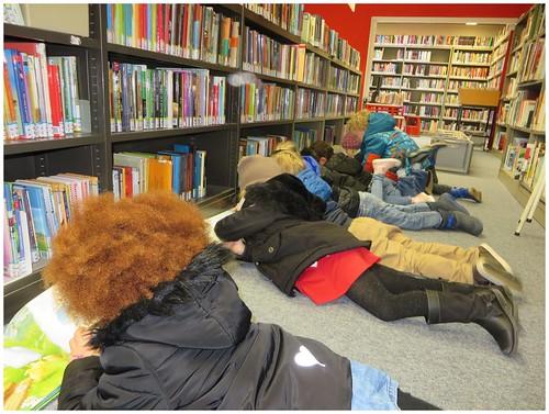 Jeugdboekenweek 2016 in buurtbib Blauwe Poorte