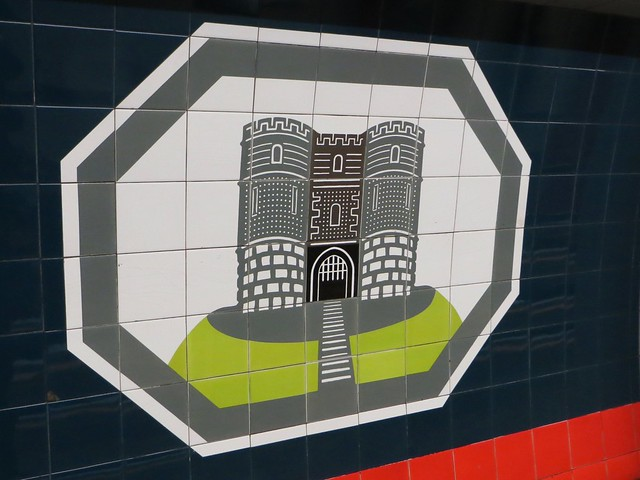 Highbury & Islington tiles