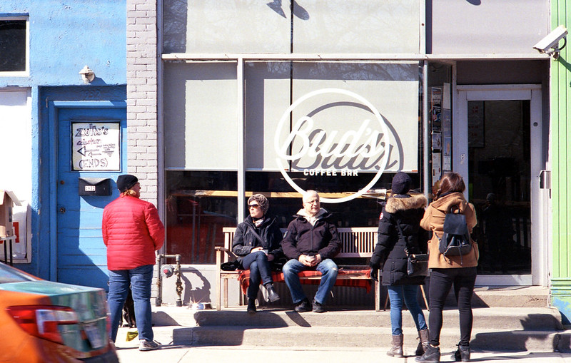 Chillin' In Front of Bud's