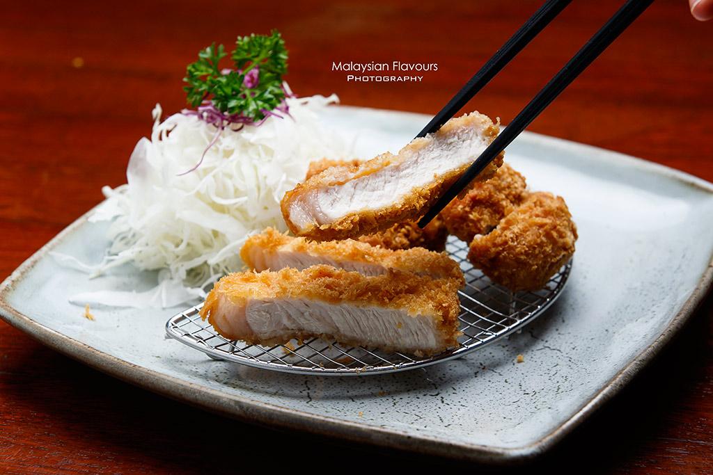 Tonkatsu deep fried pork cutlet