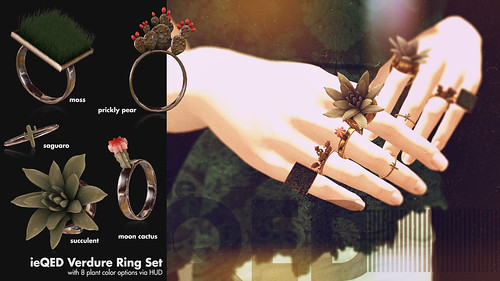 ieQED Verdure Ring Set