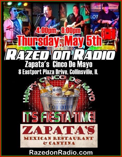 Razed On Radio 5-5-16