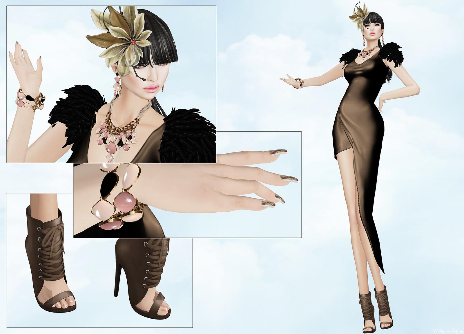 VERO MODERO - Rita Dress