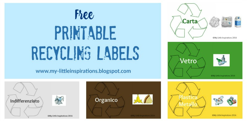 Free Recycling Labels - MLI 2