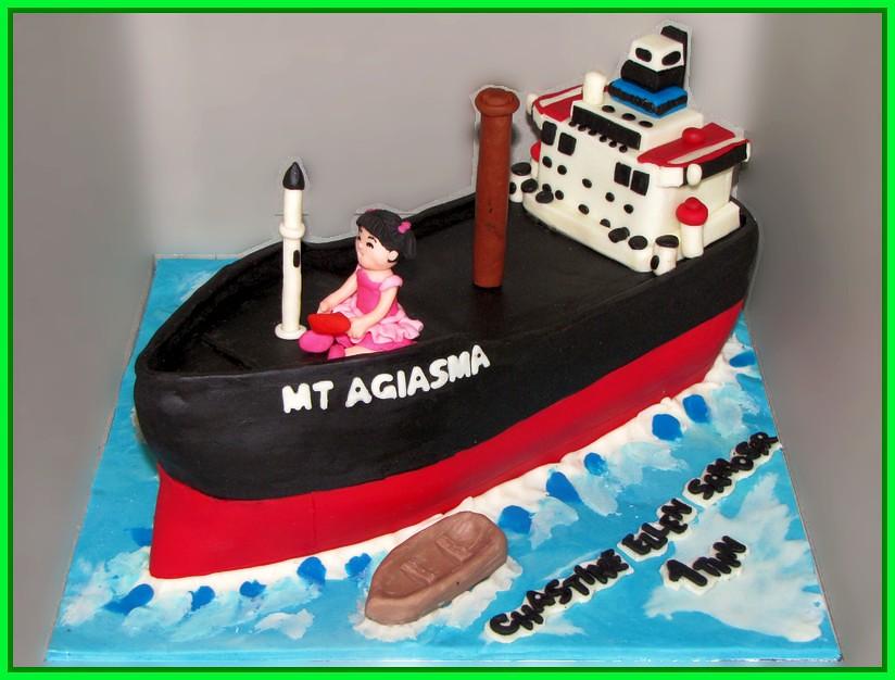 Cake Kapal Tanker