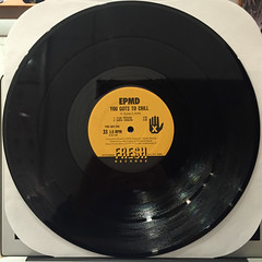 EPMD:YOU GOTS TO CHILL(RECORD SIDE-A)
