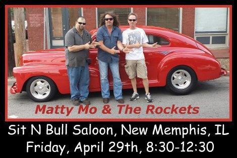 Matty Mo & The Rockets 4-29-16
