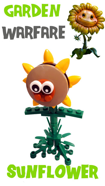 Plants Vs Zombies Garden Warfare Figures Special Lego Themes Eurobricks Forums
