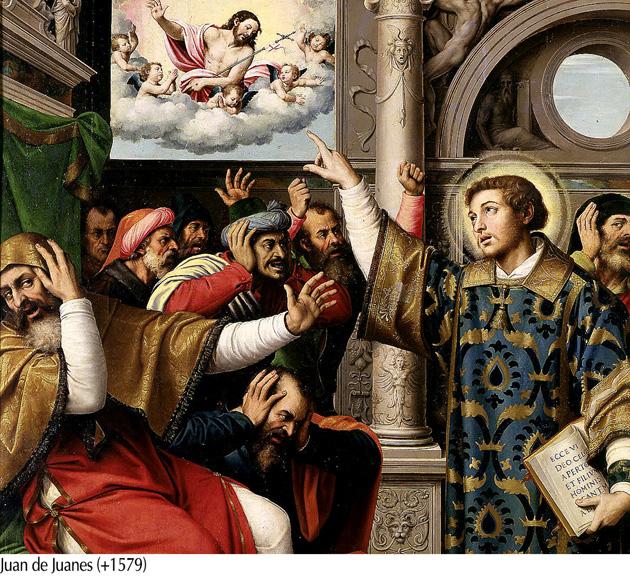 San Esteban - Juan de Juanes 1579