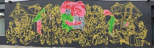 Amos Goldbaum's Clinton Park murals