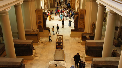 The Sarcophagi section from above