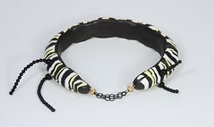 Monarch caterpillar bracelet