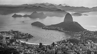Rio de Janeiro in Black and White
