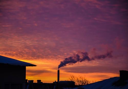 morning sun nature colors weather clouds sunrise se europe outdoor sverige malmö purpleandyellow skånelän