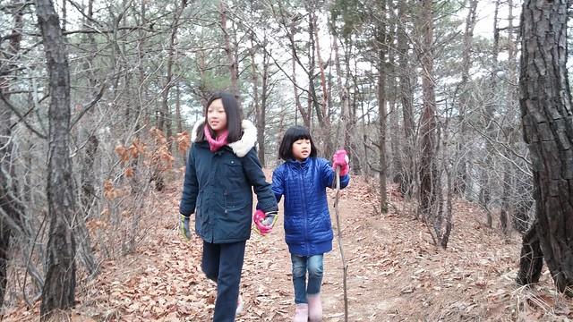 시골집풍경 | 견훤산성 부녀산행