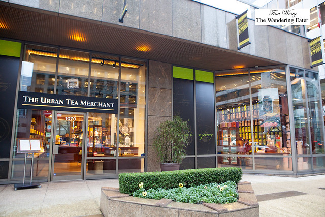 Exterior of Urban Tea Merchant