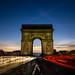 L' Arc de Triomphe de l'Étoile at dawn || Paris  {Explore 107, 2016/01/25} by David Marriott - Sydney