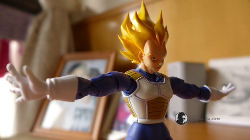 SH Figuarts Super Saiyan Vegeta Premium Color Edition