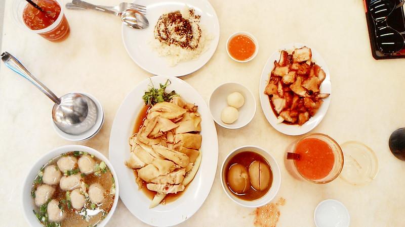 Melaka A'Famosa Chicken Rice