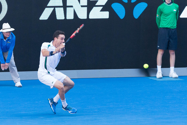 Roberto Bautista Agut at the Australian Open 2016
