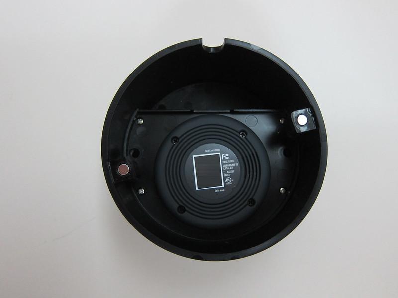 Nest Cam Case Outdoor Enclosure - Back with Nest Cam