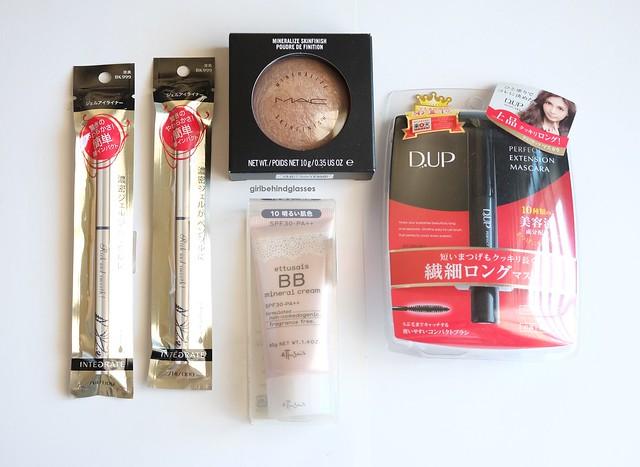 Shiseido Ettusais, MAC Mineralize Skinfinish, DUP