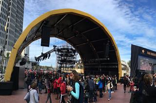 Super Bowl City - Fan Dome